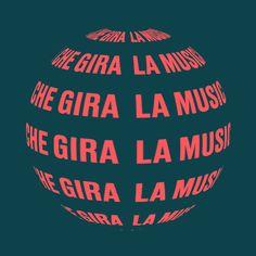 LA MUSICA CHE GIRA | Lavoratori della Musica Uniti Saint Pablo, Atari Logo, Logos, Musica, Logo