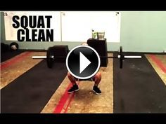 SQUAT CLEAN TECHNIQUE Paradiso CrossFit Crossfit Lifts, Crossfit Endurance, Crossfit At Home, Power Lifting, Weight Lifting, Crossfit Motivation, Olympic Weightlifting, Healthy Fit