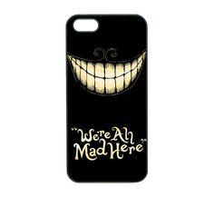 Alice In Wonderland-Samsung  Note 2,Samsung  S4 case , Samsung Galaxy S3  ,we are mad , iPhone 4 case , iphone 4S case , iPhone 5 case