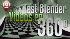 Test vídeo en 360 con Blender