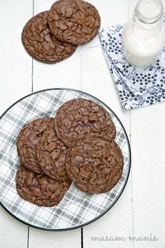 masam manis: Mad about chocolate...(Chocolate Chip Fudge Cookies)