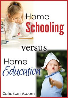 Are you home schooling your child or home educating? There is a big different between doing school at home and giving your child an education at home. Which one are you choosing?