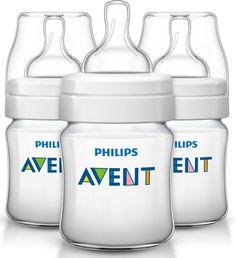 Philips Avent Classic+ 125ml Bottle- 3 pack
