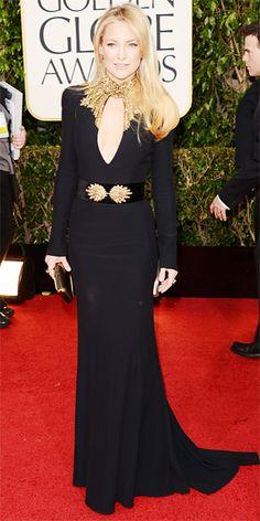 Kate Hudson in Alexander McQueen #goldenglobes