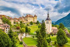 5 romantic Swiss spring getaway ideas