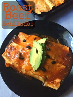 Looking for an easy Mexican dish that even the pickiest eater will eat? These Roast beef Enchiliadas are so yummy and they also can be made with leftovers!