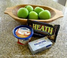 Toffee Caramel Apple Dip Recipe... { Tailgating Food } - Uncommon Designs...