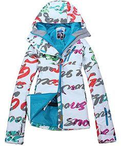 491270bbd9 APTRO Women s High Windproof Technology Colorfull Printed Ski Jacket Style   11 Size XS APTRO http