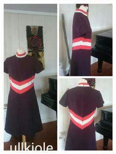 Wool dress medium size
