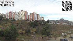Vista del lado Este del Barrio de Santa Elvira y Can Cuiàs de Montcada i Reixac de Barcelona
