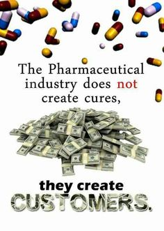 Big Pharmakeia has 5 lobbyists for Every man and woman in congress!
