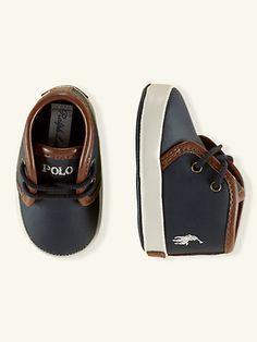 Ethan Mid-Sneaker - Shoes Layette Boy (Newborn–9M) - RalphLauren.com