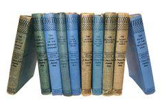 Vintage Book Collection  Nancy Drew by BreadnButterAntiques