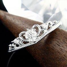 Tsutsumi 0.18K G color SI Good Cut Engagement Ring