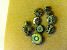50 Kazuri Beads Kazuri Beads Kazuri African Beads No Blue and White Ceramic Beads 580