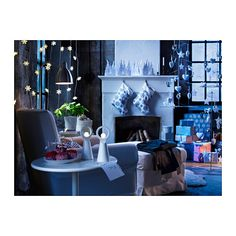 IKEA STR LA LED Decorative Light Floor Gives A Warm Cozy Glow