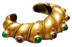 '40's Turkish artisan brass cuff -- Pin Up Queens | 22-03 Astoria Blvd | Shops | Time Out New York