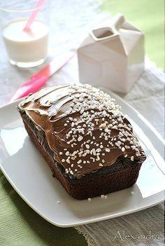 Σοκολατένιο κέικ αφρός Greek Desserts, Delicious Deserts, Best Chocolate Cake, Crazy Cakes, Cake Bars, Just Cakes, Healthy Sweets, No Bake Cake, Yummy Cakes