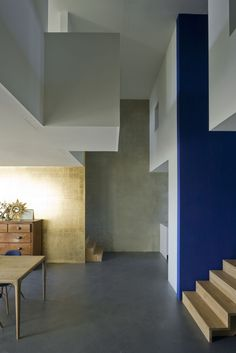 Two sided loft - Superlofts Lofts, Tall Cabinet Storage, Divider, Stairs, Table, Room, Inspiration, Furniture, Home Decor