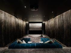 movie room // 1100 Architect | Long Island, NY