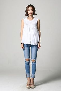 Layered Sleeveless SLV-S