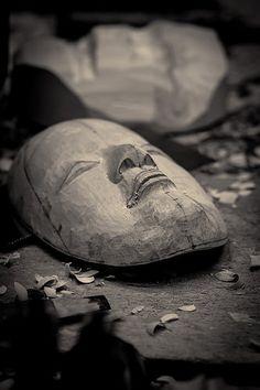 宇高通成 - Udaka Michishige Noh masks workshop - 27 | by Stéphane Barbery