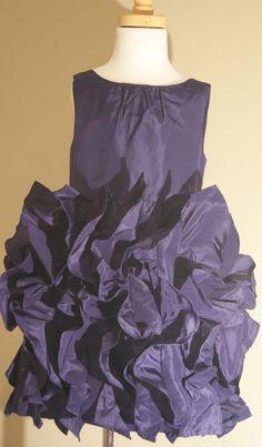 JCrew Crewcuts $188 Girls Silk Lyla Dress Sz 2 wedding party pacific blue 43902 #JCrewCrewcuts #DressyHolidayPageantWedding