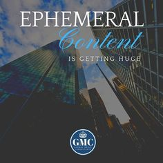 Ephemeral content is a fast and popular way to engage with your audience. Snapchat Instagram and Facebook stories are definitely something you should look into doing - this type of content is only shared for up to 24 hours and then disappears forever.  Ephemeral content also allows you to be more authentic as the content you post is more real-time content. Stories are a way to also share new content to bring and engage your followers to your actual page. Having stories that appear at the top… Definitions, Snapchat, Followers, Content, Popular, Facebook, Type, Movie Posters, Instagram