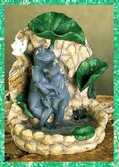 Frog Water Fountain   Table Top Or Desk Top Fountains