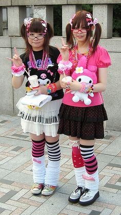 """For people that don't know japanese fashion and look at some of the styles and say """"wow! That's strange""""these outgoing fashions are normal in japan .and are fun, creative, and original."""