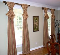 Exceptionnel Window Treatments   Traditional   Dining Room   Atlanta   Lady Dianneu0027s  Custom Window U0026 Bed Treatments