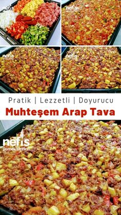 East Dessert Recipes, Lunch Recipes, Meat Recipes, Salad Recipes, Dinner Recipes, Turkish Recipes, Italian Recipes, Ethnic Recipes, Iftar