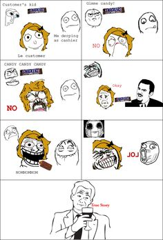 Le Gimme Candy - View more rage comics at http://leragecomics.com