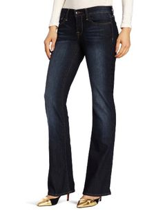 Lucky Brand Women's Dayton Sweet N Low Jean, Ol Redwood, 30x30 - Dayton sweet n low in old redwood - short inseam Product Features  Mid rise Easy through the hips and thighs