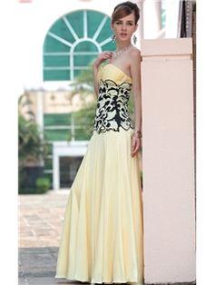 Applicate A-line Sweetherat Floor-length Prom/Evening Dress