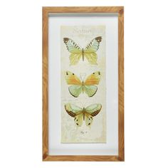 Butterflies Shadowbox Framed Wall Art - Christmas Tree Shops and That! - Home Decor, Furniture & Gifts Store Framed Wall Art, Christmas Tree Shop, Furniture Gifts, Holiday Wall Art, Shop Wall Art, Frame, Frames On Wall, Wall Frame Set, Xmas Tree Shop