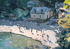 Andrew Tozer,Late Afternoon Sunshine, Durgan