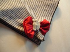 SALE  Zebra Head Handkerchief by cajunstitchery on Etsy, $5.00