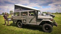 Land Cruiser,  troopy pop-top