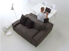 Canapé / table ISOLAGIORNO™ EASY+SLIM XS - LAYOUT ISOLAGIORNO™ by Farm