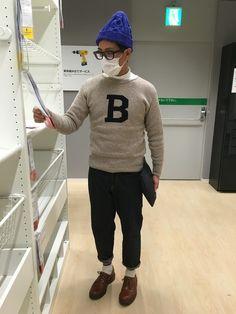 KOROSUKEさんのニット・セーター「BONCOUR 」を使ったコーディネート