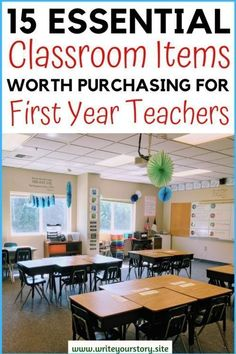 15 Essential Classroom Items For First Year Teachers / First Year Teacher Must Haves