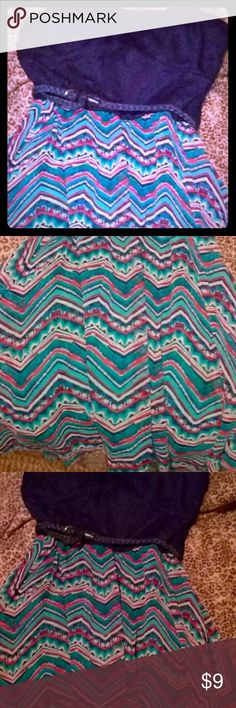 REDUCED! Size XL strapless Print Dress NEVER WORN!  REDUCED! Dresses