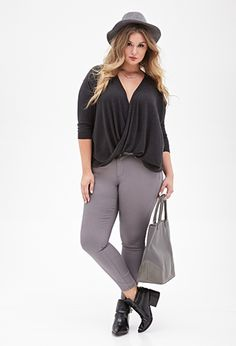 Draped Front Sweater | FOREVER21 PLUS - 2052288930
