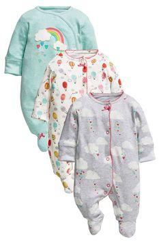 Kaufen Sie Three Pack Rainbow Sleepsuit (0 Monate – 2 Jahre) heute online bei Next: Deutschland