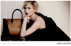 Michelle Williams Stars In Louis Vuitton's Autumn Winter 2013 Campaign | Grazia Fashion