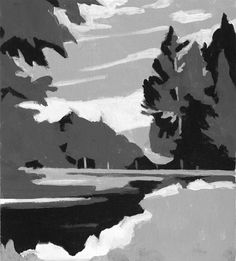 Painting Exercises: Limited Focus, Shape, Color and the Notan in ...