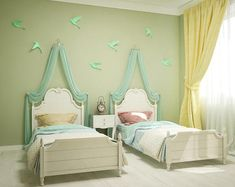 DIY paper Birds on wall 3D papercraft Easy paper model