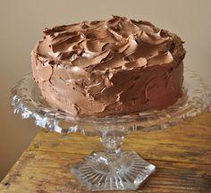 chocolate cake of my sister