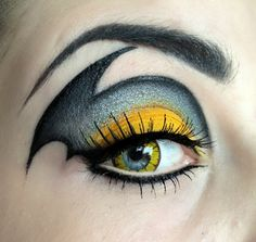 Batman and More Gorgeous Geeky Eye Makeup